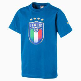 Italia Kinder Wappen T-Shirt, Team Power Blue, small