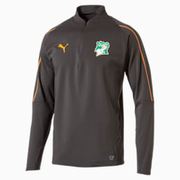 Camisola desportiva com fecho 1/4 Ivory Coast