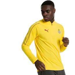Ghana 1/4 Zip Training Top, Dandelion, small