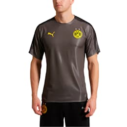BVB Men's Stadium Jersey, Asphalt-Puma Black, small