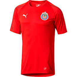 Chivas Training Jersey, Puma Red, small