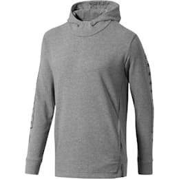 Olympique de Marseille Fan Slogan Men's Hoodie, Medium Gray Heather, small