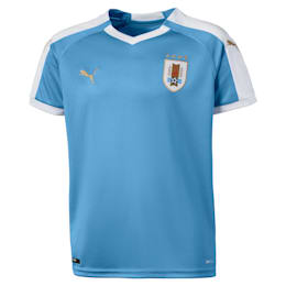 Uruguay Kinder Replica Heimtrikot, Silver Lake Blue, small