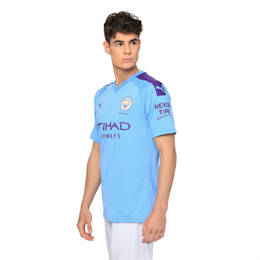 Man City Men's Home Replica Jersey, TeamLightBlue-TillandsiaPurp, small-IND