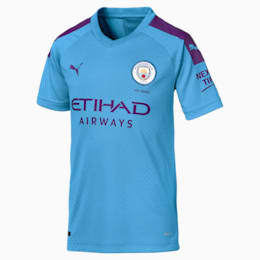 Maillot domicile Manchester City Replica pour enfant, TeamLightBlue-TillandsiaPurp, small