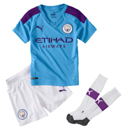 Man City Kids' Home Replica Mini Kit