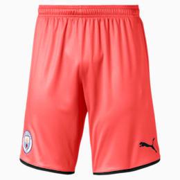 Manchester City FC Herren Replica Shorts, Georgia Peach-Puma Black, small