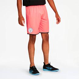 Manchester City Men's Third Replica Shorts, Georgia Peach-Puma Black, small