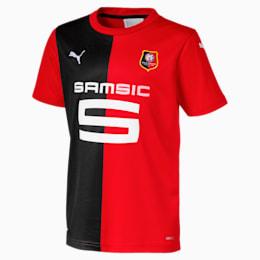 Stade Rennais Boys' Home Replica Jersey, Puma Red-Puma Black, small