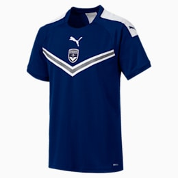 Girondins De Bordeaux Men's Home Replica Jersey, Puma New Navy, small