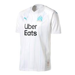 オリンピック・マルセイユ OM SS ホーム レプリカシャツ, Puma White-Bleu Azur, small-JPN