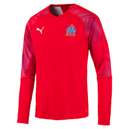 Olympique de Marseille Men's Replica Goalkeeper Jersey