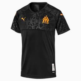 Olympique de Marseille Kids' Third Replica Jersey, Puma Black, small