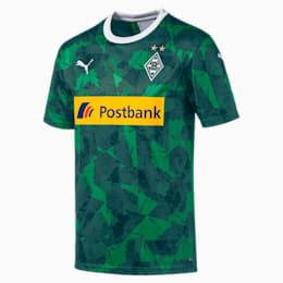 Borussia Mönchengladbach Men's Replica Third Jersey, Amazon Green-Ponderosa Pine, small