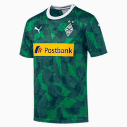 Borussia Mönchengladbach Men's Replica Third Jersey, Amazon Green-Ponderosa Pine, small