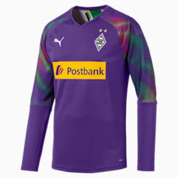Camisola de guarda-redes do Borussia Mönchengladbach Replica para homem, Prism Violet, small