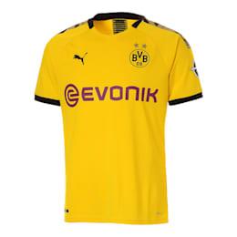 ドルトムント BVB SS ホーム オーセンティック シャツ 半袖, Cyber Yellow-Puma Black, small-JPN