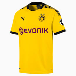 BVB Herren Replica Heimtrikot, Cyber Yellow-Puma Black, small