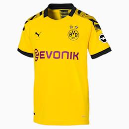Maillot domicile BVB Replica pour enfant, Cyber Yellow-Puma Black, small