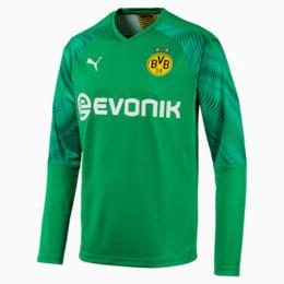 Maillot de goal BVB Replica à manches longues pour homme, Bright Green, small