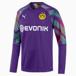 BVB Replica Long Sleeve Men's Goalkeeper Jersey