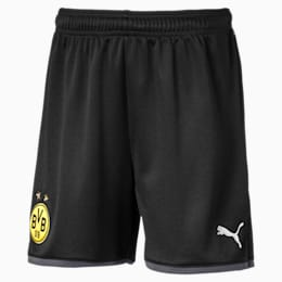 BVB Replica Youth Shorts, Puma Black-Ebony, small