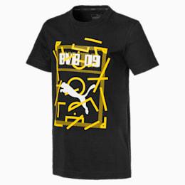 T-Shirt BVB DNA pour homme, Puma Black, small