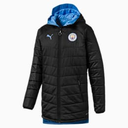 Man City Bench Men's Replica Reversible Jacket