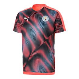 Man City Stadium League Men's Jersey, Georgia Peach-Puma Black, small-SEA