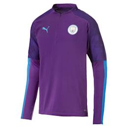 Camiseta Manchester City FC con cierre1/4 para hombre