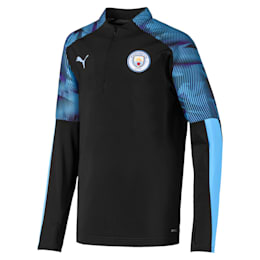 Man City Quarter Zip Kids' Training Top