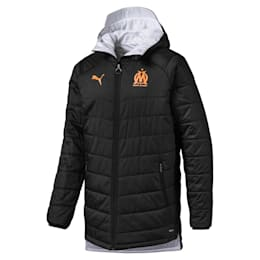 Olympique de Marseille Bench Men's Replica Reversible Jacket