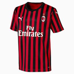 Camisola principal do AC Milan Replica para criança, Tango Red -Puma Black, small