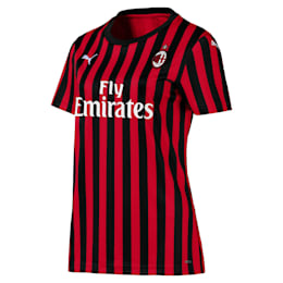 Camiseta local réplica de manga corta de mujer AC Milan Authentic