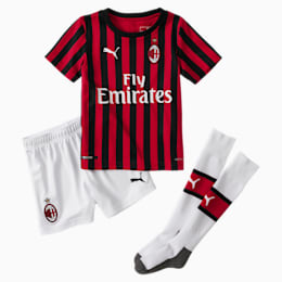 AC Milan Kinder Heim Mini Set mit Socken, Tango Red -Puma Black, small