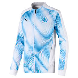 Olympique de Marseille Stadium Boys' Replica Jacket