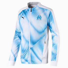 Olympique de Marseille Stadium Boys' Replica Jacket