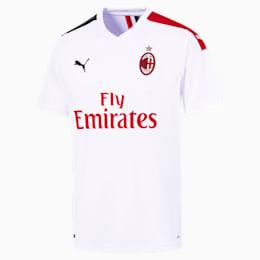 Replika koszulki wyjazdowej AC Milan dla mezczyzn, Puma White-Tango Red, small