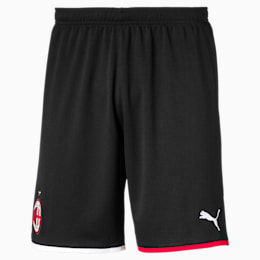 AC Milan Herren Replica Shorts, Puma Black-Tango Red, small