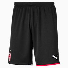 AC Milan Men's Away Replica Shorts, Puma Black-Tango Red, small