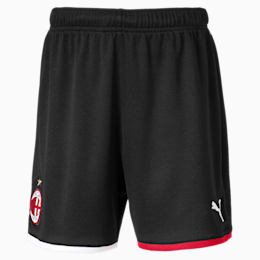 AC Milan Replica Kids' Shorts, Puma Black-Tango Red, small