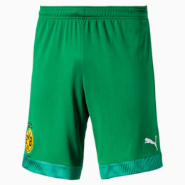 BVB Men's Replica Goalkeeper Shorts, Bright Green, small