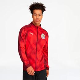 Chivas Men's Stadium Jacket, Pomegranate, small