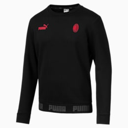Sweat AC Milan Football Culture pour homme, Puma Black-Tango Red, small