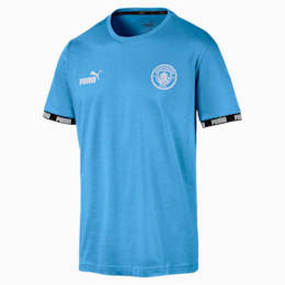 Man City Men's Football Culture Tee, Team Light Blue, small