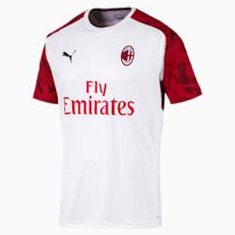Meska koszulka treningowa AC Milan z krótkim rekawem
