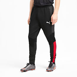 AC Milan Men's Training Pants, Puma Black-Tango Red, small