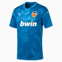 Terceira camisola do Valencia CF Replica para homem, Bleu Azur-Indigo Bunting, small