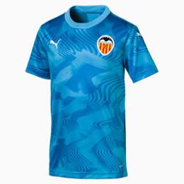 Maillot de remplacement Valencia CF Replica pour enfant, Bleu Azur-Indigo Bunting, small