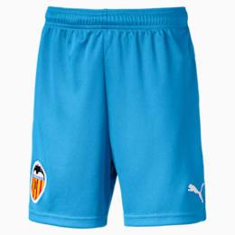 Valencia CF Kids' Replica Shorts, Bleu Azur-Puma White, small